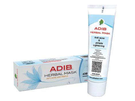 کرم ماسک گیاهی ادیب (ضد لک و جوش)