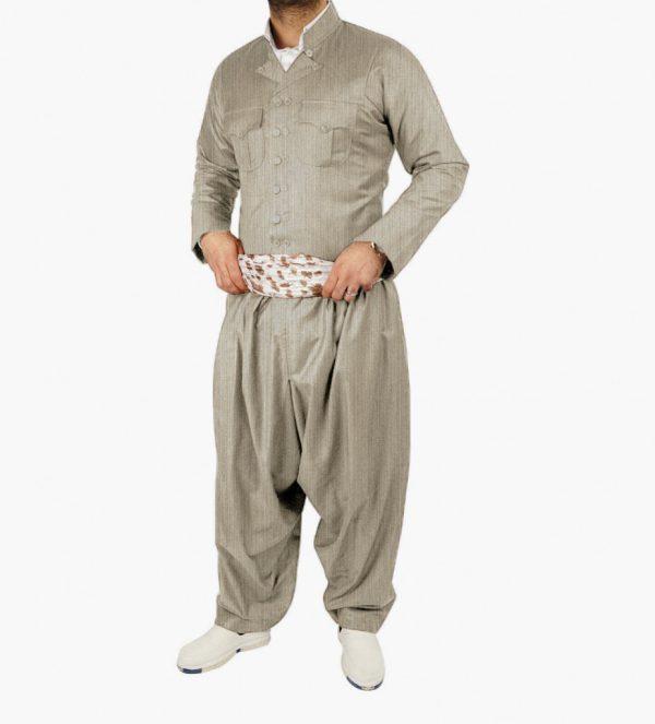 لباس کردی مردانه مدل مهابادی