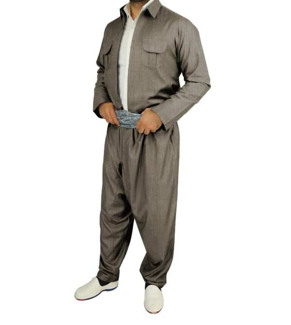 لباس کردی مردانه مدل بارزانی