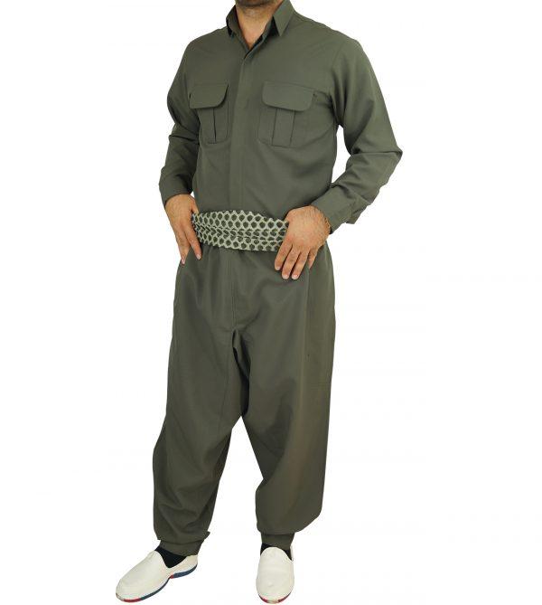 لباس کردی مردانه مدل شاخه وانی