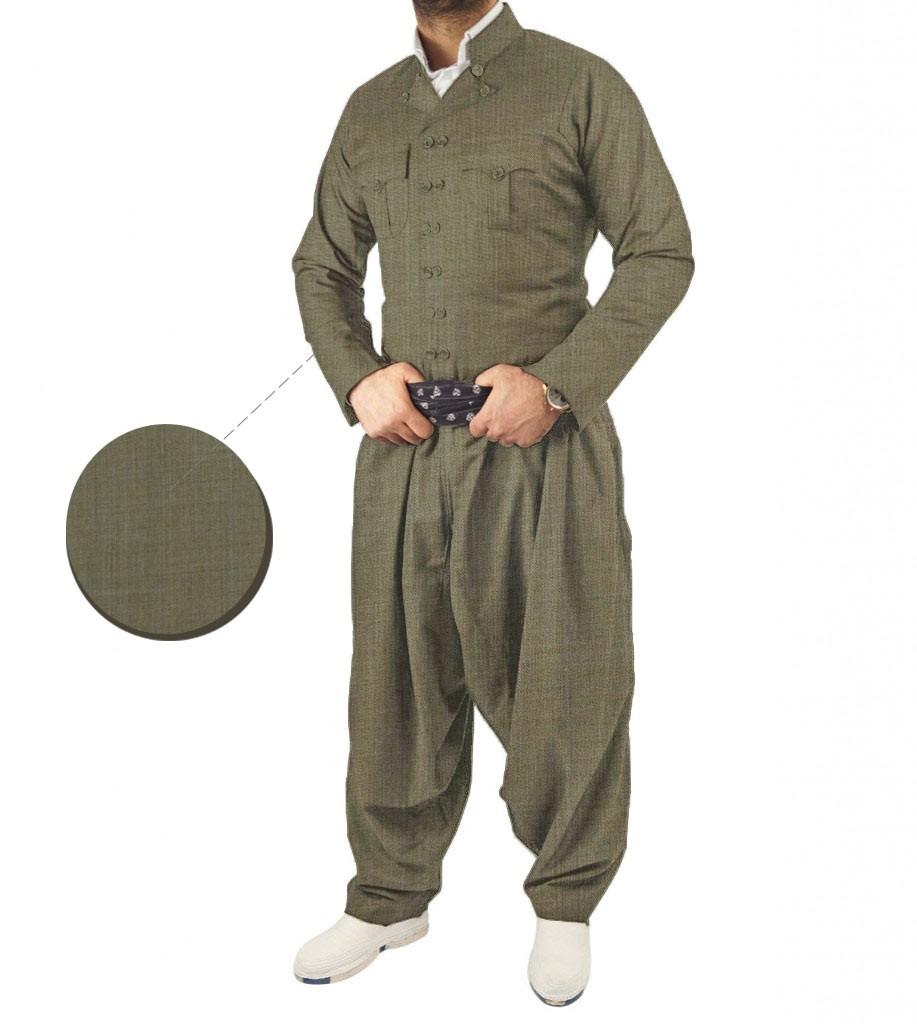 لباس کردی مردانه طرح مهابادی