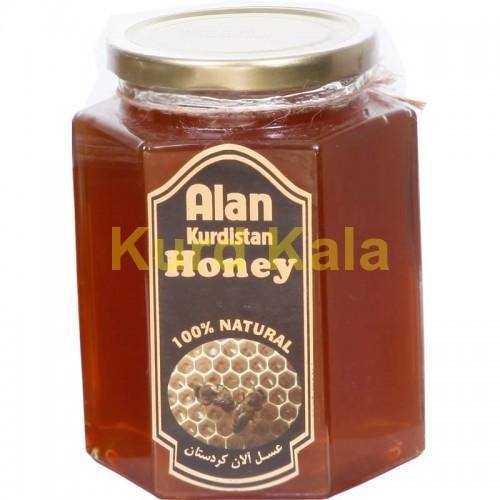 عسل طبیعی آلان کردستان 1کیلو