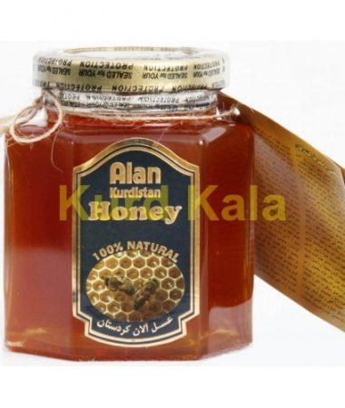 عسل طبیعی آلان کردستان 250 گرم
