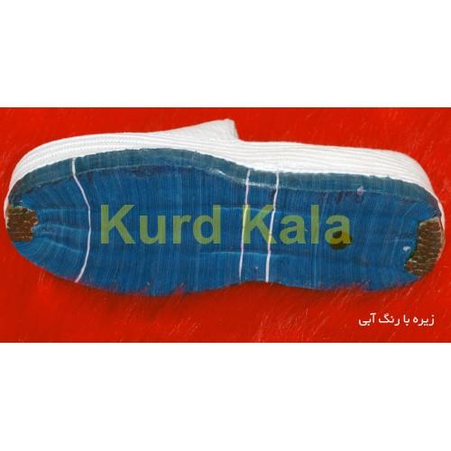 گیوه کلاش کردستان برند شنیا رنگ سفید