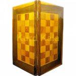 تخته نرد و صفحه شطرنج لوزی طرح سیوان