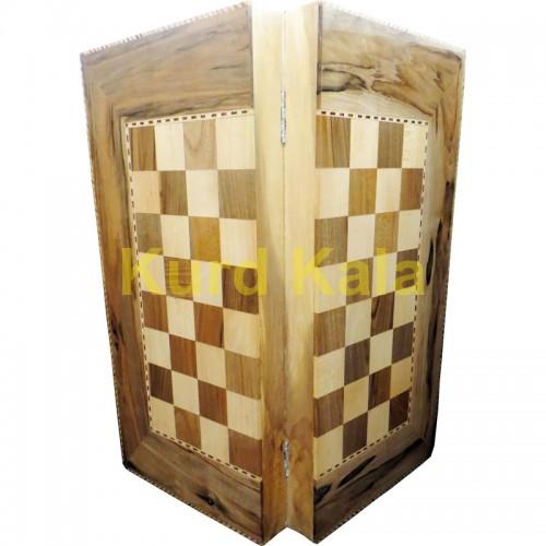 تخته نرد و صفحه شطرنج هشت پر طرح آربابا