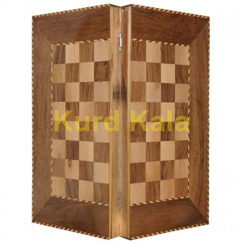 تخته نرد و صفحه شطرنج گره طرح هیوا