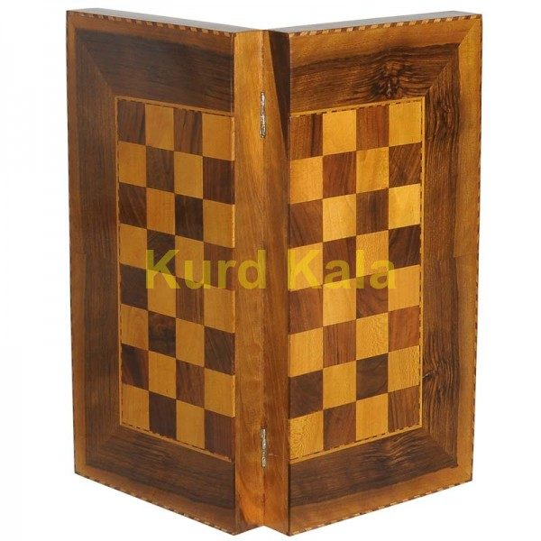 تخته نرد و صفحه شطرنج لوزی طرح رامان