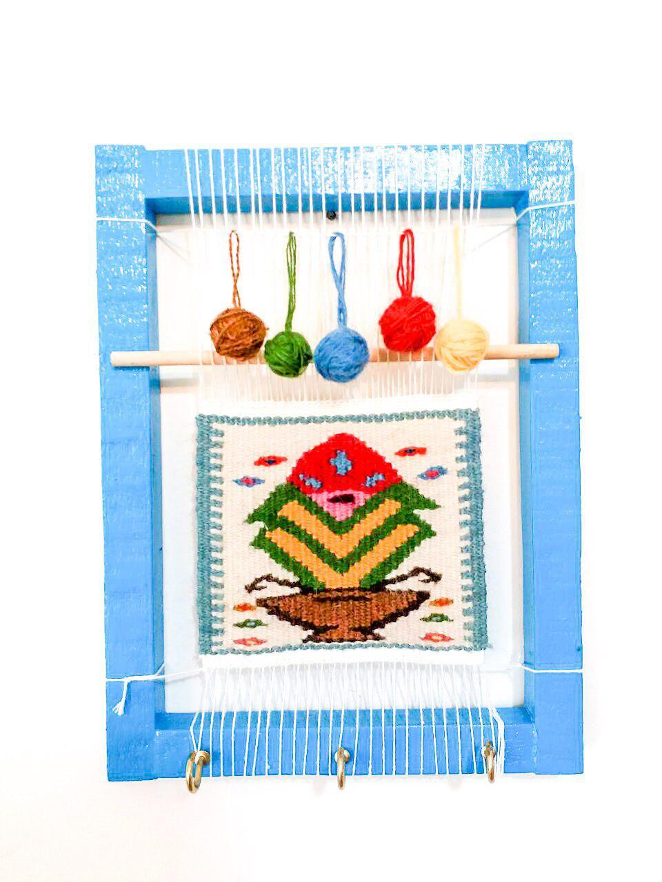 جاکلیدی سنتی طرح دار قالی