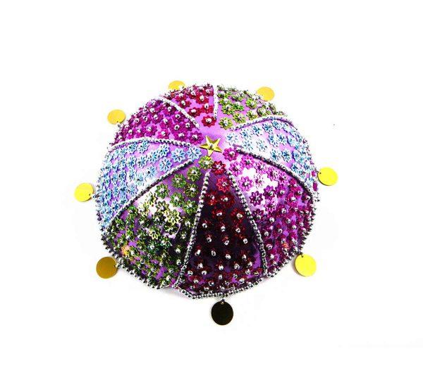 کلاه سنتی دخترانه کردستان طرح هاوین