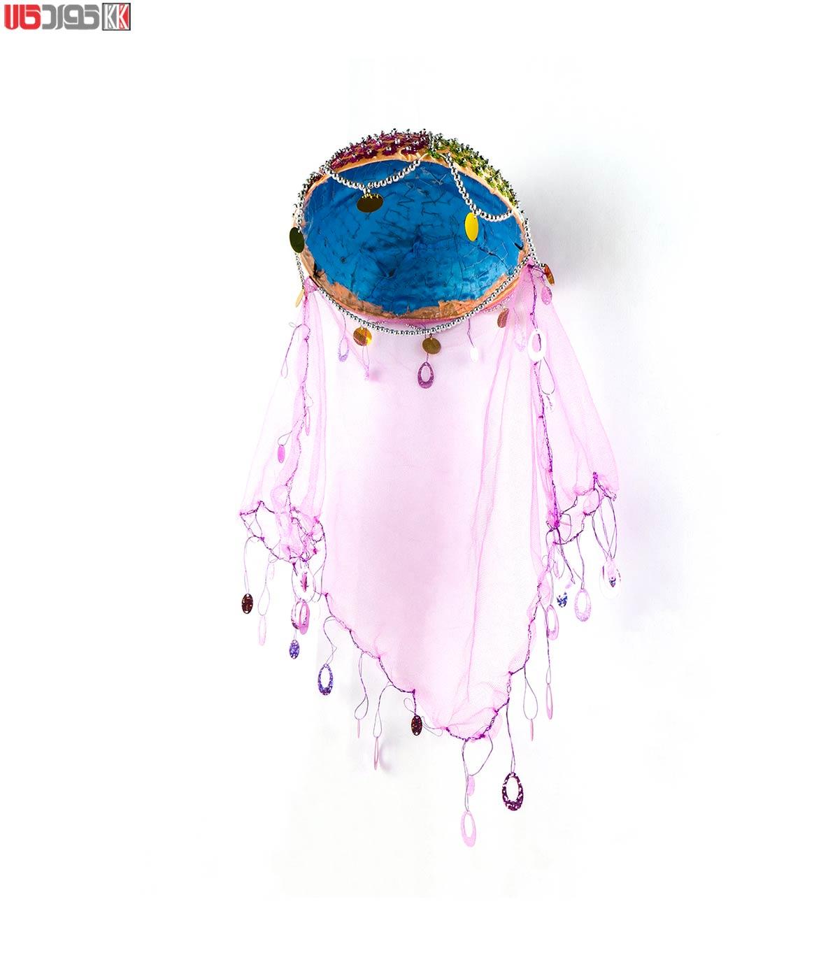 کلاه سنتی دخترانه کردستان طرح هانا