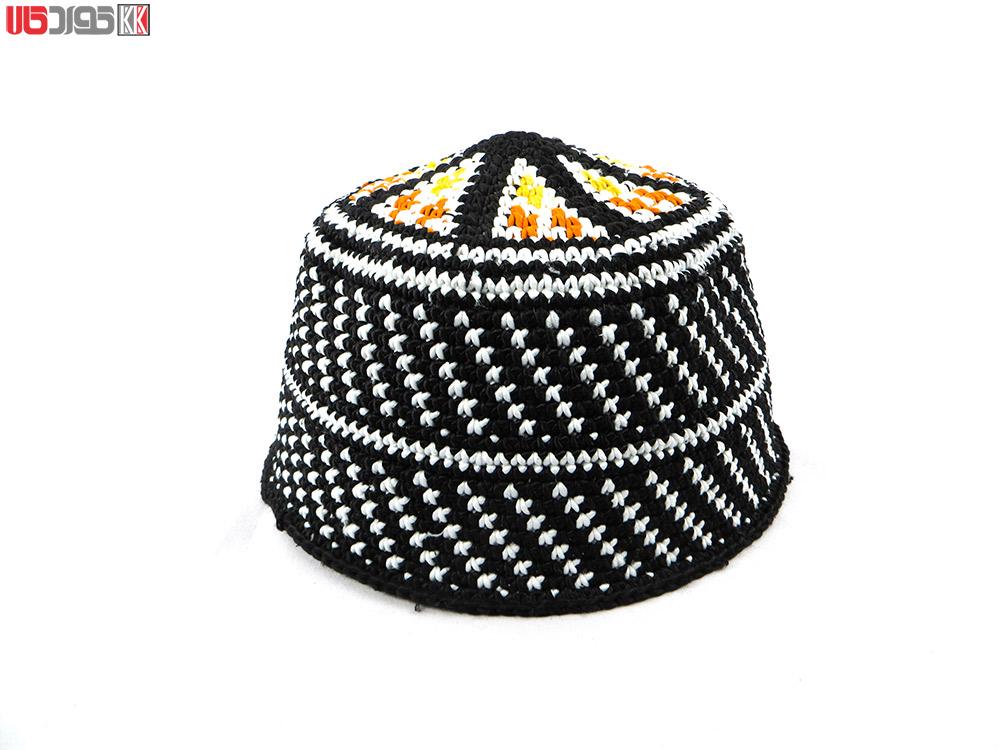 کلاه سنتی مردانه کردستان طرح اردلان