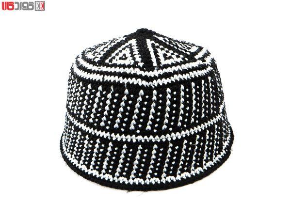 کلاه سنتی مردانه کردستان طرح هژار
