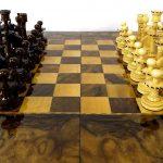 صفحه شطرنج و تخته نرد سنندج مدل زانیار