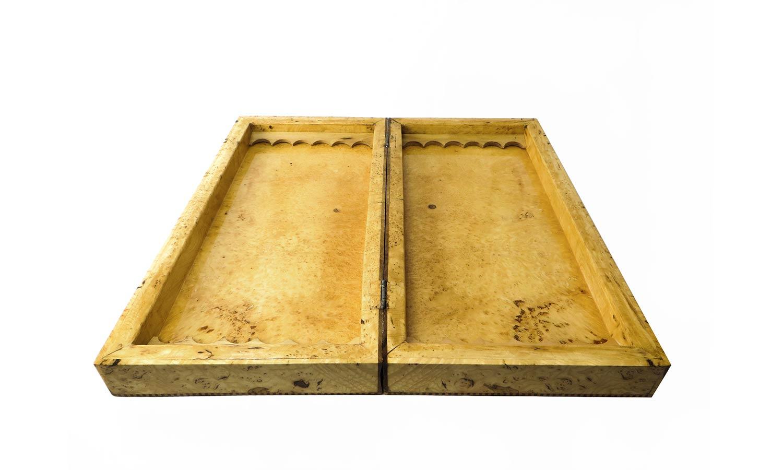 صفحه شطرنج و تخته نرد سنندج چوب کیکم مدل هژار
