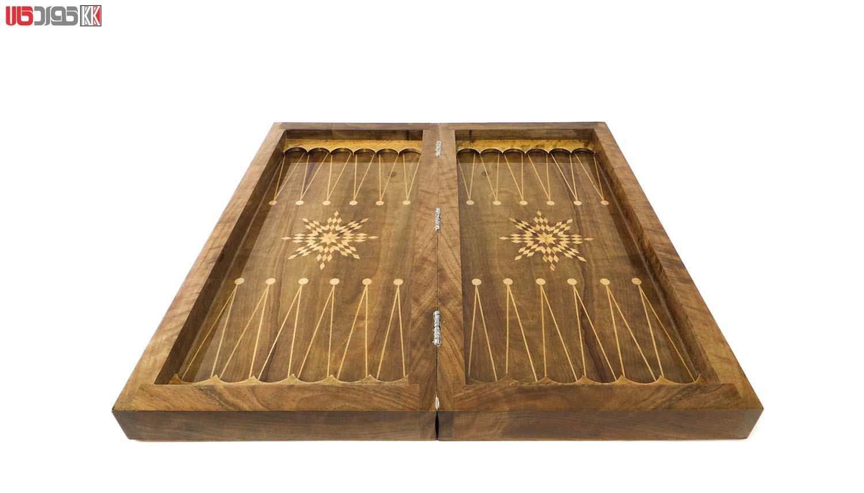 صفحه شطرنج و تخته نرد سنندج مدل دیار