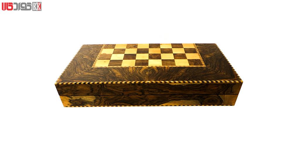 صفحه شطرنج و تخته نرد سنندج مدل زانکو