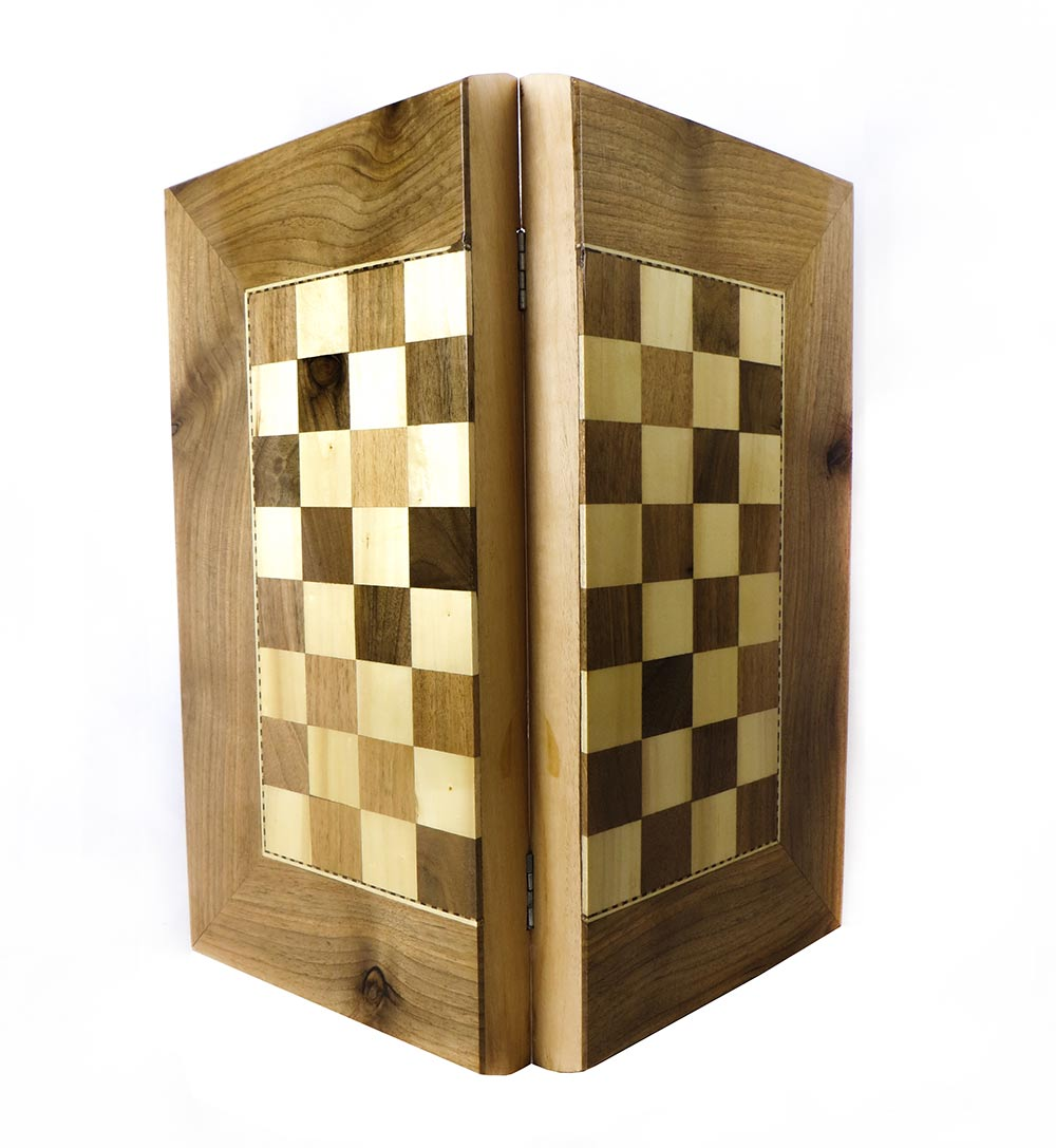صفحه شطرنج و تخته نرد سنندج مدل اردلان