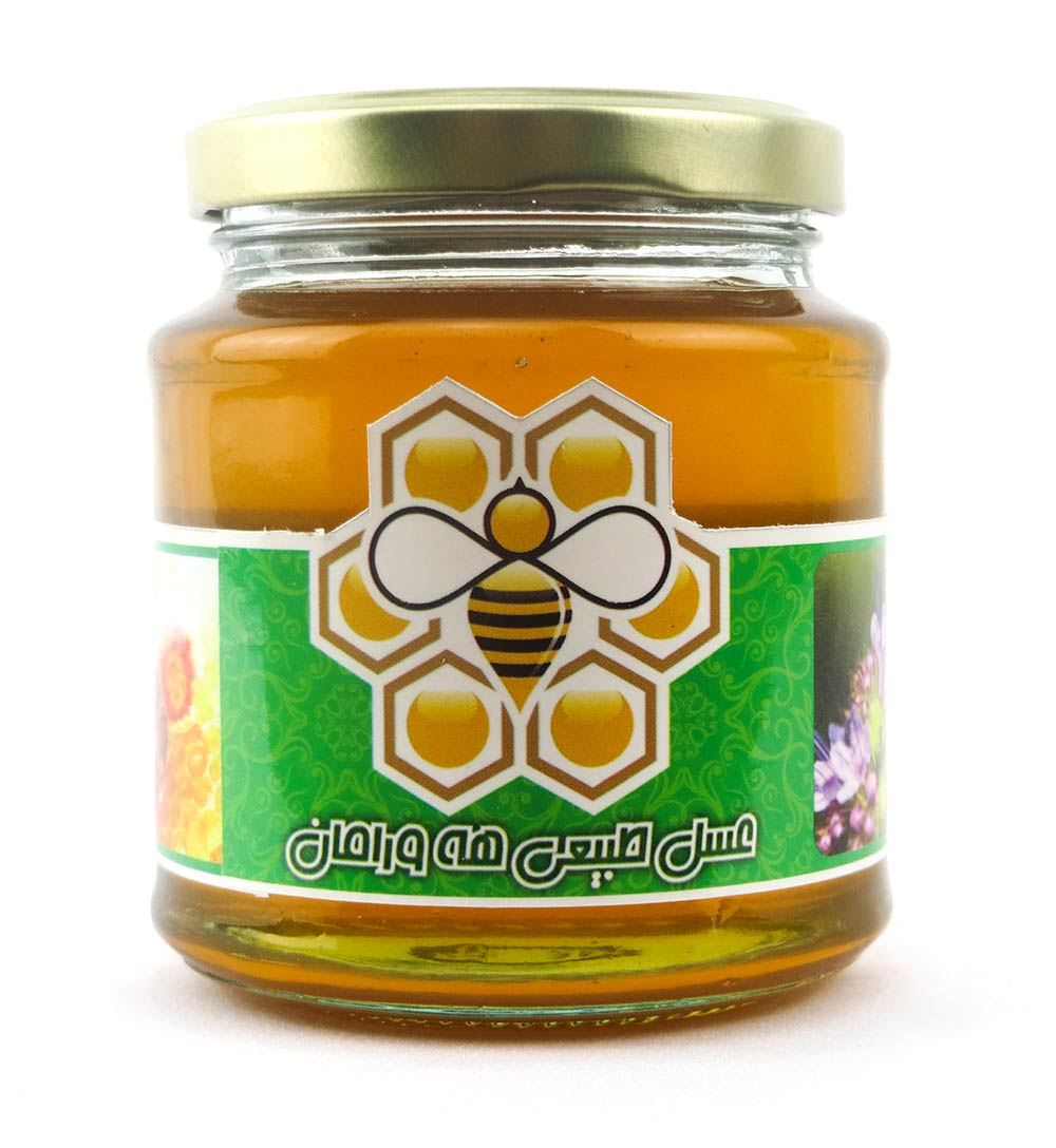 عسل طبیعی کردستان منطقه اورامان 500 گرم