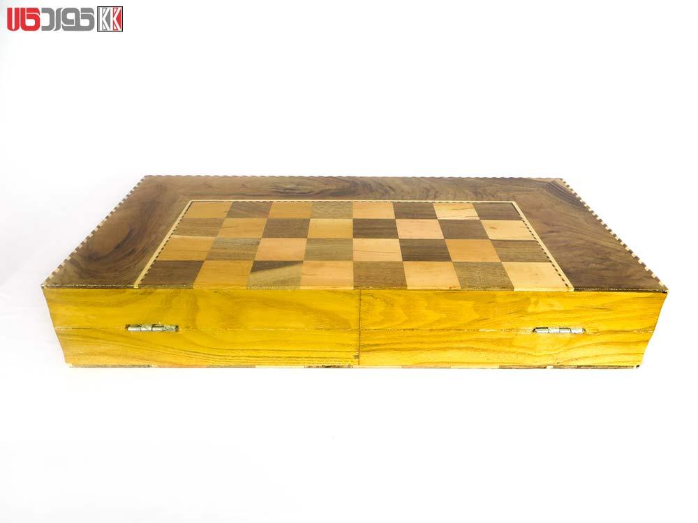 صفحه شطرنج و تخته نرد سنندج مدل شاهو کد 105