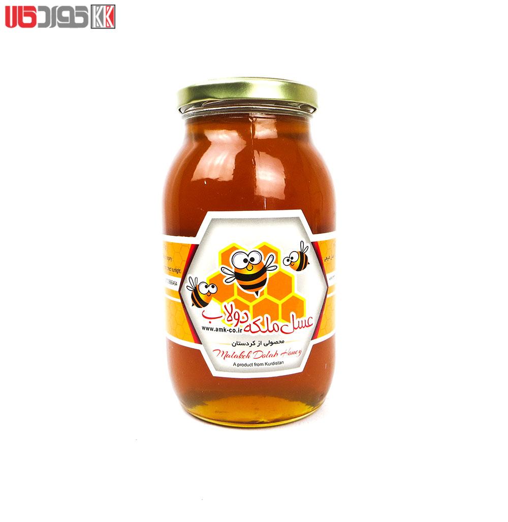 عسل طبیعی ملکه دولاب کردستان (ویژه) 900 گرم