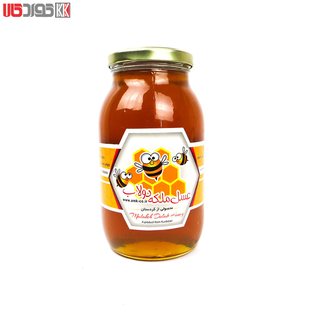 عسل طبیعی کردستان (ویژه ملکه دولاب) 1 کیلو