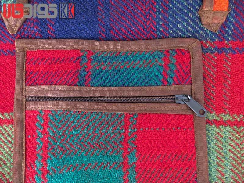 ساک دستی جاجیم کردستان کد 114
