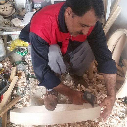 دف پوستی حیدر محمدی