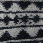جوراب پشمی مردانه دستبافت سنتی کردستان کد 105