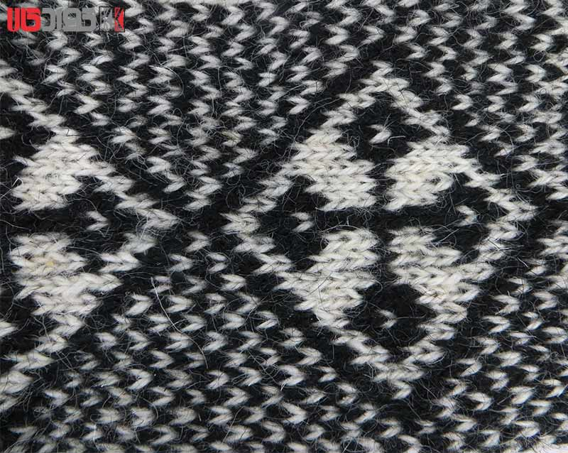 جوراب پشمی مردانه دستبافت سنتی کردستان کد 108