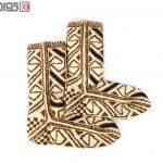 جوراب پشمی دستبافت سنتی کردستان کد 113