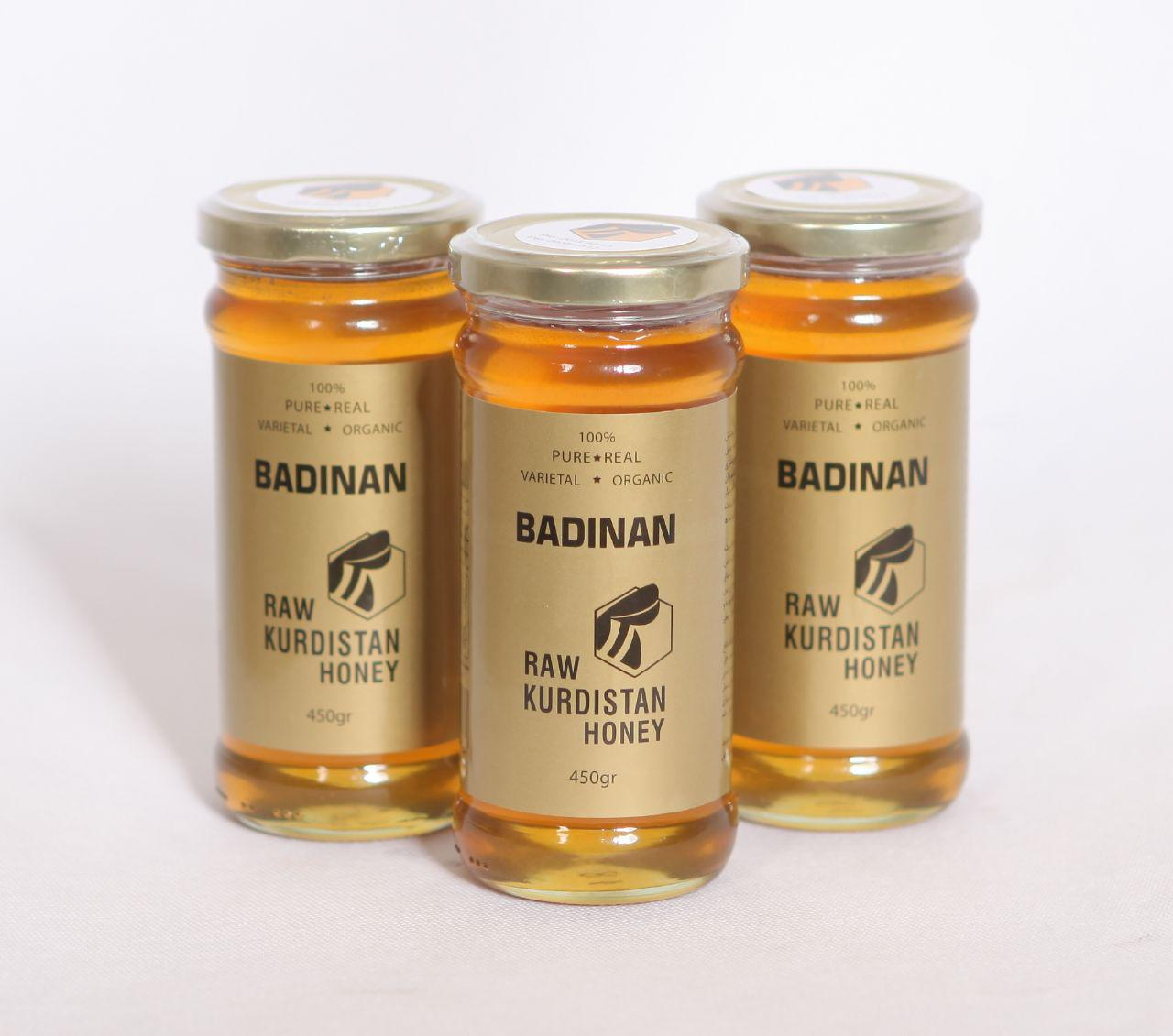 عسل طبیعی بادینان کردستان 450گرم