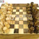 مهره شطرنج چوبی کلاه دار طرح سیروان