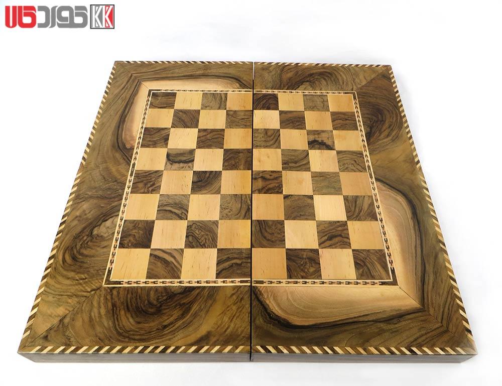 صفحه شطرنج و تخته نرد سنندج مدل وریا