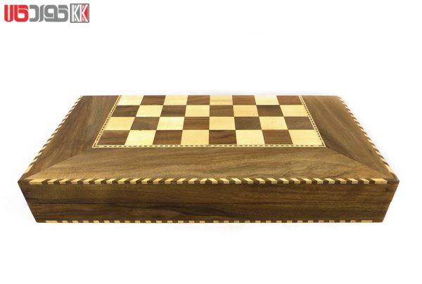 صفحه شطرنج و تخته نرد سنندج مدل زانیار کد 102