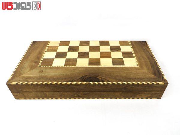 صفحه شطرنج و تخته نرد سنندج مدل زانیار کد 103