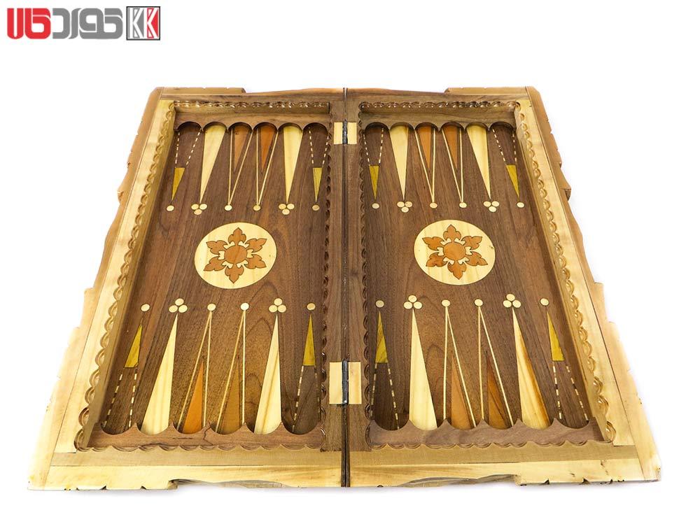 صفحه شطرنج و تخته نرد سنندج مدل اردلان کد 102