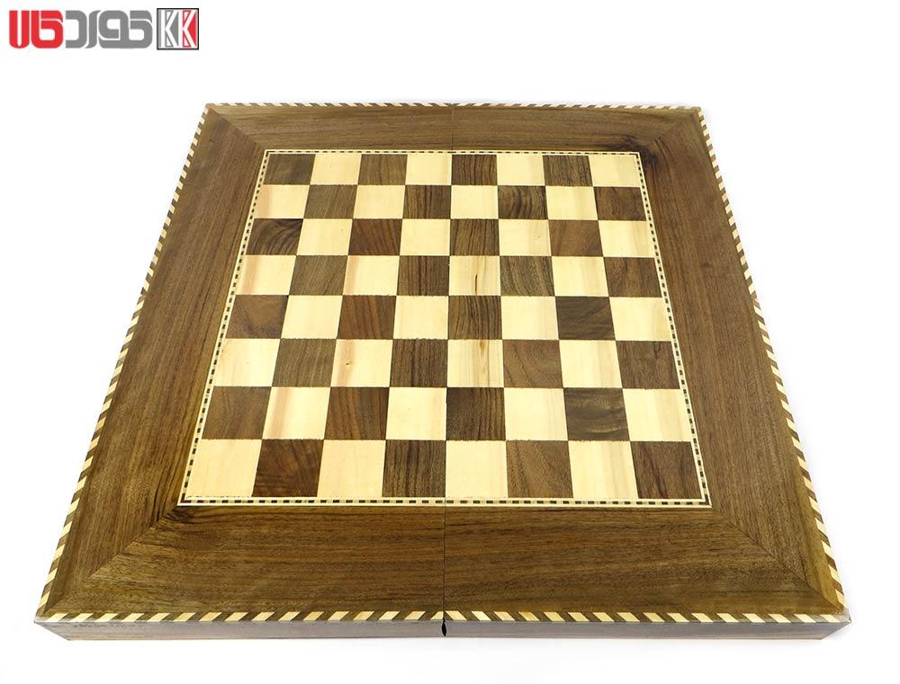 صفحه شطرنج و تخته نرد سنندج مدل مستوره کد 101