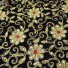 جلیقه زنانه سنتی کردستان مخمل گیپور طلایی نگین دار کد 116
