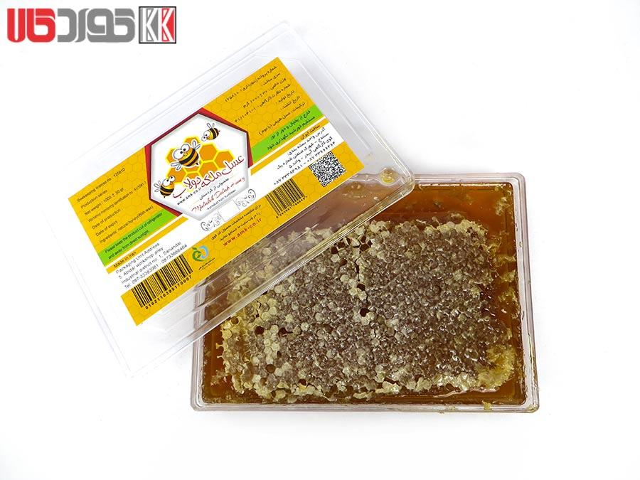 عسل طبیعی با موم ملکه دولاب کردستان 1 کیلو