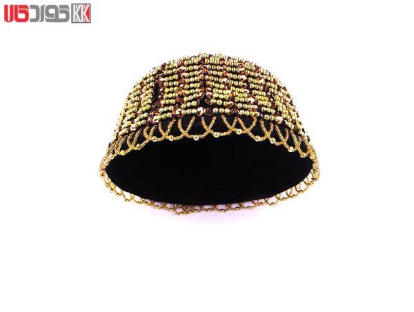 کلاه سنتی زنانه کردستان طرح روژان