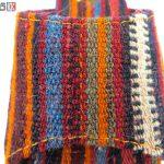 صندل زنانه سنتی کردستان طرح جاجیم سایز 40