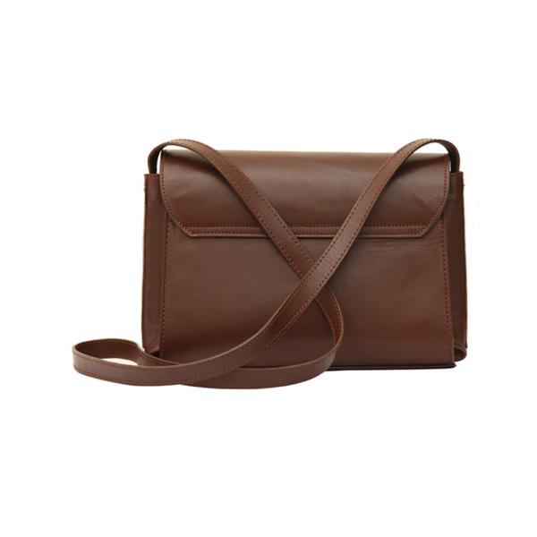 کیف دوشی زنانه چرم طبیعی جانتا کد ۰۱۳