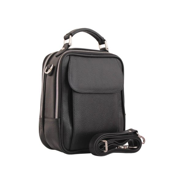 کیف دوشی چرم طبیعی جانتا کد 018B