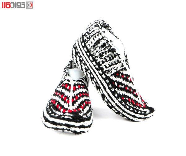 جوراب کاموایی زنانه دستبافت سنتی کد 116