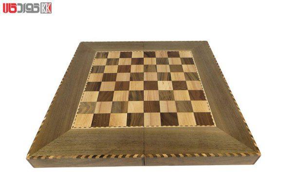 صفحه شطرنج و تخته نرد سنندج مدل وریا کد 104
