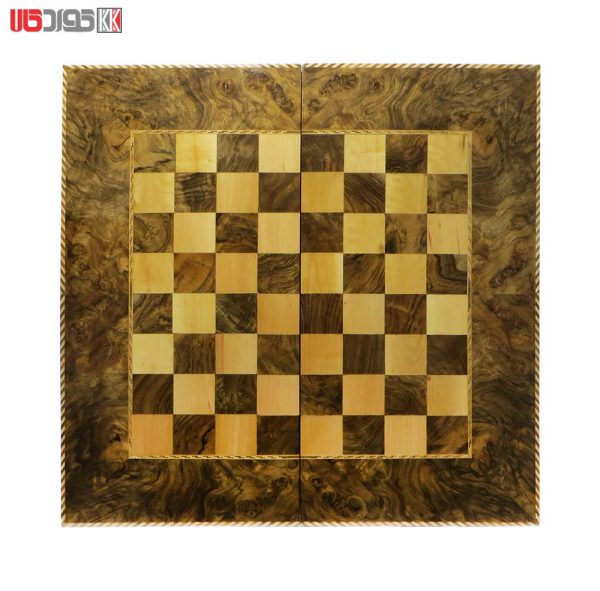 صفحه شطرنج و تخته نرد سنندج تمام گره گردو مدل روژمان کد 101