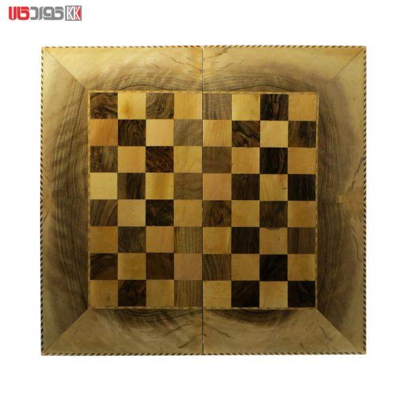 صفحه شطرنج و تخته نرد سنندج مدل هوگر کد 102