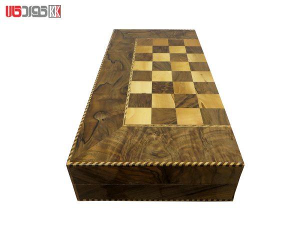صفحه شطرنج و تخته نرد گره سنندج مدل ریوان کد 101