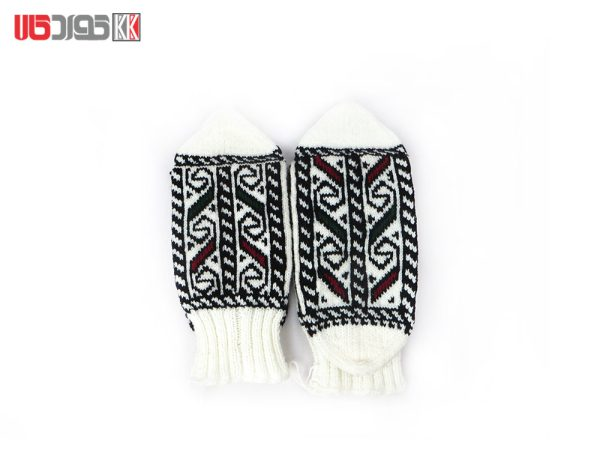 جوراب کاموایی زنانه دستبافت سنتی کد 120